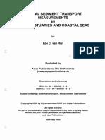 Manual Sediment Transport Measurements