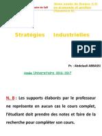 Chap v Stratégies Industrielles