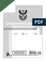 Mining Charter Gazette