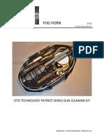 Otis Technology Patriot Series Gun Cleaning Kit