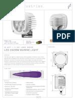 35watt White Light Tech Sheet