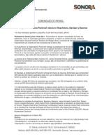 13-06-17 Entrega Gobernadora Pavlovich obras en Huachinera, Bavispe y Bacerac. C-061773