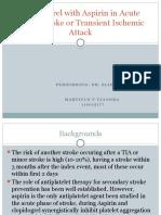 Neuro - Jurding - TIA Minor Stroke.pptx