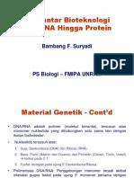 1 - Bioteknologi - Intro