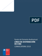 Fondos 2018 Audiovisual Distribucion