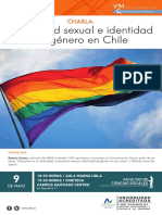 Afiche Charla Diversidad Sexual