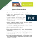 3. Reglamento Educación a distancia