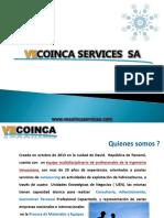 Presentacion VECOINCA SERVICES Version Abril 2015