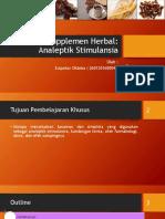 Supplemen Herbal Analeptik Stimulansia_Zulpakor Oktoba