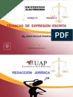 Redaccion Juridica - UAP