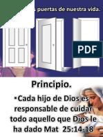 Cuidando Las Puertas de Nuestra Vida #1 Ayuno IBE Callao 26-04-15