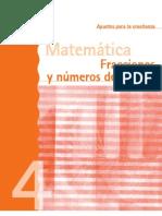 Fracciones y numeros decimales 4º docente