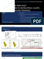 Assessing the Risks and Uncertainties in Developing Guapo Oilfield Onshore Trinidad