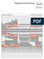 Fag the Design of Rolling Bearing Mountings