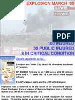 Explosion en Refineria de Texas
