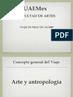 Arte y Antropología