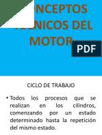 Conceptos Técnicos Del Motor