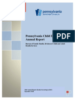 2016 Pennsylvania Child Death Review report