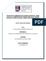 Cover Policy Analysis