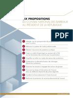10 propositions pour la profession d'avocat