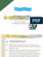 INFESTASI KUTU (PEDIKULOSIS)
