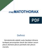 HEMATOTHORAX-ppt