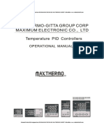 Manual Control de Temperatura MC 5838 MAXTHERMO