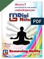 Digi Notes 27-04-2016 Reasoning English