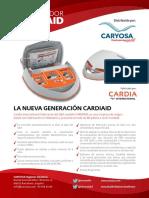 Desfibrilador Cardiaid Ficha Tecnica