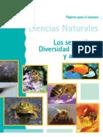 Los seres vivos. Diversidad biológica y ambiental