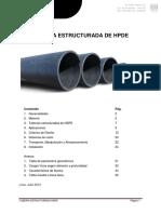 ET Estructurada HDPE - 2013 Jul