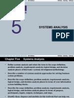 Analisis dan Desain Sistem - Bab 5