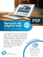 Brochure Paginaweb