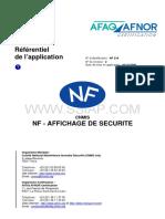 NF318-Affichage de Sécurité