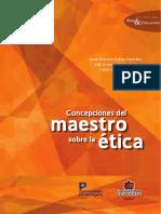 Concepciones Del Maestro Sobre La Etica