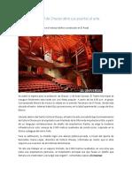 Teatro Municipal de Chacao Abre Sus Puertas Al Arte - El Universal