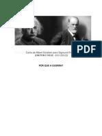 Carta de Albert Einstein para Sigmund Freud.docx