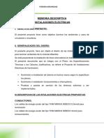3. MEMORIA DESCRIPTIVA ELECTRICAS.docx