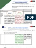 Modelo de formulación de conclusiones en el trabajo de Plan de Acción