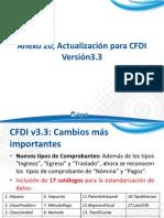 Anexo 20, Actualización para CFDI Versión3.3 ASPEL SAE 7.0