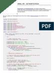Javamail API Authentication