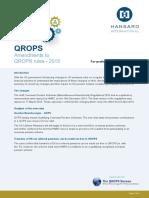 Qrops Amendments to Rules 2015