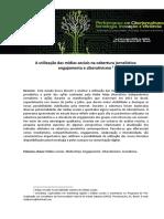 A Utilização Das Mídias Sociais Na Cobertura Jornalística - Engajamento e Ciberativismo
