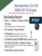1998-2002 CLK 430 DIY Oil Chnage.pdf