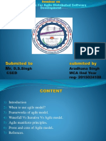 Ppt of Agile Model