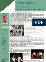 Emanuel Church - july newsletter