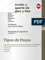Extraccion y Transporte de Petroleo Diapositivas