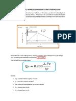 Método Del Hidrograma Unitario Triángular