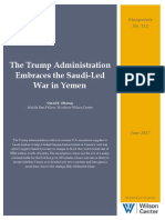 The Trump Administration Embraces the Saudi-Led War in Yemen
