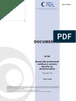 PREAL Desarrollo Profesional Docente